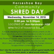 ace hardware nov 14 2018 shred day